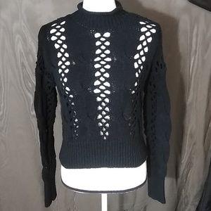 Express crop sweater size M